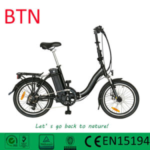 "36V250W 20"" Folding Electric Bike Suspension pictures & photos"