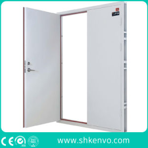 Industrial Double or Single UL and FM Certified Panic Fire Rated Metal Door with Vision Panel pictures & photos