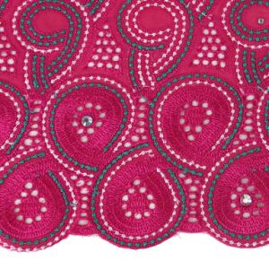 Wholesale Fancy Swiss African Lace Fabric pictures & photos