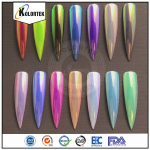 2017 Newest Rainbow Chrome Aurora Nails Powder, Nails Aurora Mirror Powder for Nail Art pictures & photos