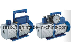Dual Stage Vacuum Pump (with vacuum gauge and solenoid valve) for Refrigeration, Vp260, Vp280, Vp2100 pictures & photos