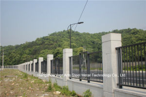 Customized High-Quality Classic Residential Industrial Galvanized Steel Fence pictures & photos