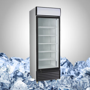 Commercial Upright Fridge with Single Glass Door pictures & photos