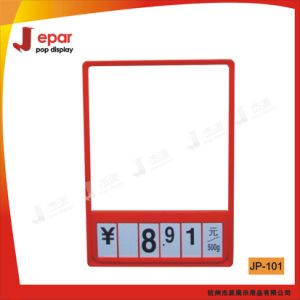 A3 Supermarket Pop Plastic Price Ticket Frame/Poster Frame pictures & photos