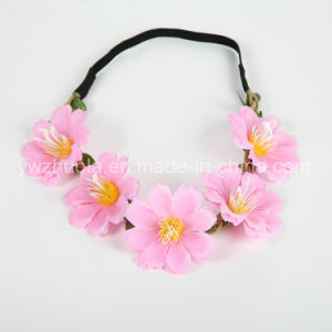 Floral Headdress Wedding Flower Headband Wholesale pictures & photos