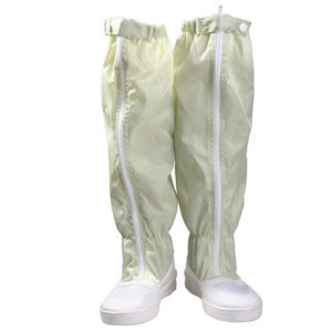 Cleanroom PU PVC Sole ESD Boots pictures & photos
