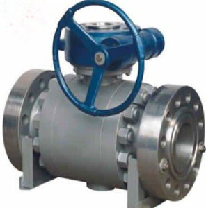 Metal Seat Trunnion Ball Valve pictures & photos