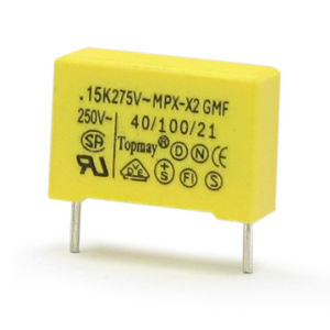 X2 Soft Wire Metallized Polypropylene Film Capacitor pictures & photos