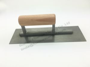 Silverline Cement Edging Trowel with Wooden Handle (FPT15) pictures & photos