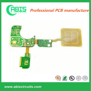 Fr-4+Pi Rigid-Flex Immersion Gold PCB pictures & photos