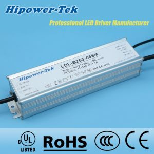 250W Waterproof IP65/67 Outdoor Dimmable Power Supply LED Driver pictures & photos