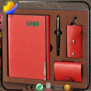 Business Fashion Leather Professional Custom Notebook Set pictures & photos
