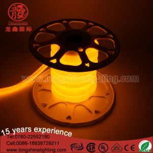 High Brightness LED Flexible Pink Round Shape Neon Light IP65 pictures & photos
