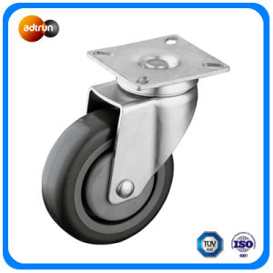 Medium Duty PU Wheel Casters pictures & photos