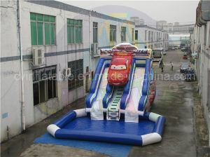 Giant Inflatable Car Water Slide for Adults and Kids pictures & photos