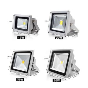 10W AC85-265V IP65 RGB LED Floodlight pictures & photos