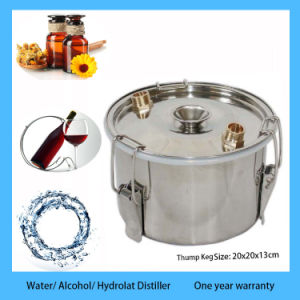 5 Gal Stainless Boiler Alcohol Moonshine Still Water Distiller Home Brew Kit with Thump Keg pictures & photos