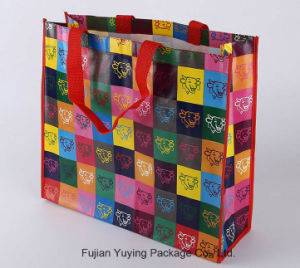 Heat Transfer Tote Non Woven Shopping Bag with Customized Size pictures & photos