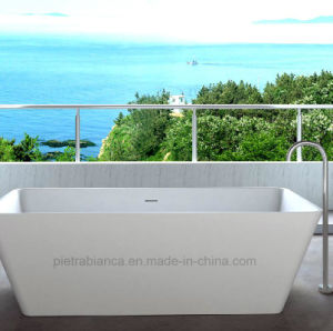 Corian Solid Surface Freestanding Bathtub (PB1026)