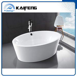 Large Free Standing Oval Shape Bathtub (KF-728) pictures & photos