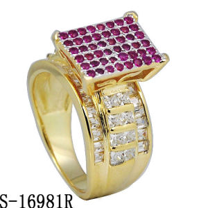 High End Product Fashion Diamond Ring Silver Jewelry pictures & photos