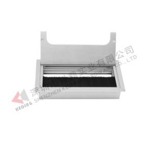 Table Top Outlet Box Conference Box Terminal Box Cable Flap pictures & photos