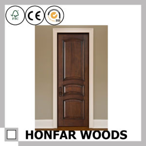 Modern Style Walnut Wood Door Frame for Interior Decor pictures & photos
