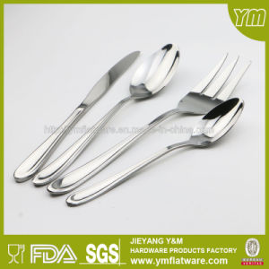Electroplate Silver Stainless Steel Cutlery Set Custom Flatware pictures & photos