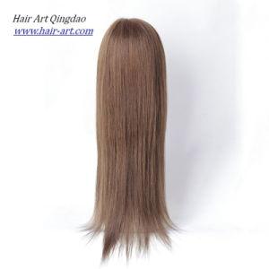 Silk Top European Virgin Human Hair Jewish Wig pictures & photos