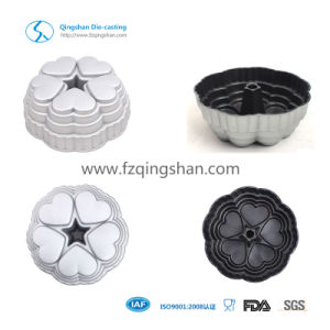 Good Quality Flower Design Die Casting Cake Mold pictures & photos