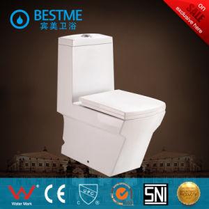 Big Size Washdown Toilet Suite with Pedestal and Bidet pictures & photos