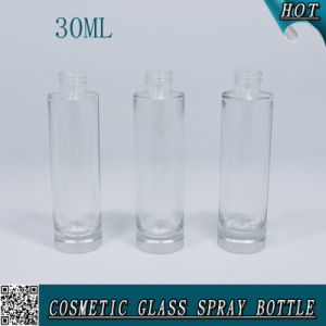 1 Oz Round Cosmetic Perfume Glass Bottle with Spray Mist 30ml pictures & photos