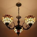 Tiffany Chandelier Lamp (8S6-1P3)