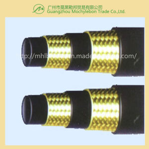 Steel Wire Braided Reinforced Rubber Covered Hydraulic Hose (SAE100 R2-1/2) pictures & photos