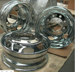 Forged Aluminium Wheel, Aluminum Rim (19.5X6.75) for Trailer and Truck pictures & photos