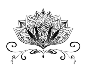 Fashion Lotus Graphics Waterproof Tattoo Sticker Art Tattoo Sticker pictures & photos