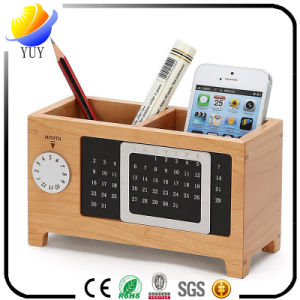 Hot Selling Wooden Perpetual Calendar for Promotional Gifts pictures & photos