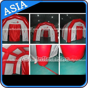 Inflatable Airtight Red Cross Tent in Sale, Inflatable Rescue Tent pictures & photos