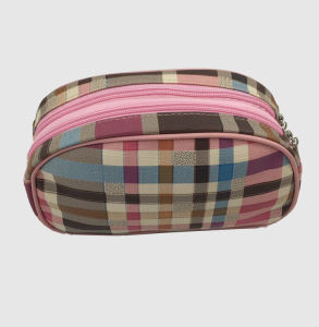 Leather Cosmetic Bag for Women pictures & photos
