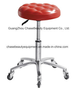 Red Cheap Stool Chair Master Chair Salon Chair for Selling pictures & photos