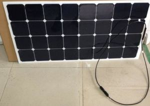 High Efficiency Sunpower Cell Semi Flexible Solar Panel 120W pictures & photos