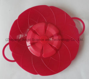 Silicone Spill Stopper, Silicone Pot Pan Lid SL02 pictures & photos