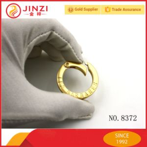 Newest Fashionable Bag Hardware Accessories Pear Gold Color Spring Open Ring pictures & photos