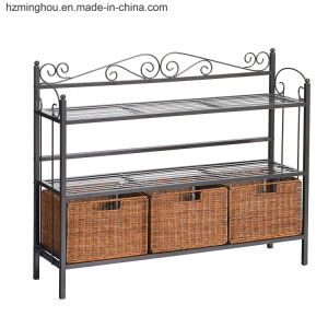 Wholesales Metal Storage Rack Display Shelf with Factory Price Furniture pictures & photos