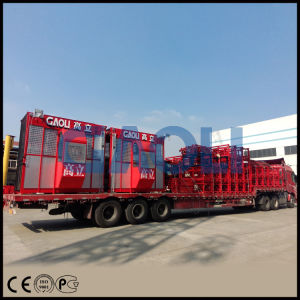 Gaoli Sc200/200 Construction Elevator for Passenger & Material pictures & photos
