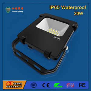 Portable 110lm/W IP65 20W SMD3030 LED Floodlight pictures & photos