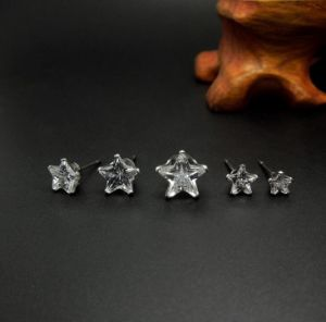 Star Ear Stud Zircon Fashion Jewelry Women Earrings pictures & photos