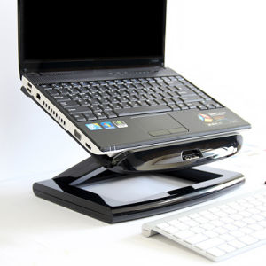 10-17 Inch Foldable Laptop Stand with 4 USB 2.0 Port Hub with Fan pictures & photos