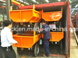 Garbage Transfer Truck 2ton Hydraulic Mini Site Dumper pictures & photos