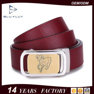 Personalized Buckle Belt Genuine Leather Men Waist Belt pictures & photos